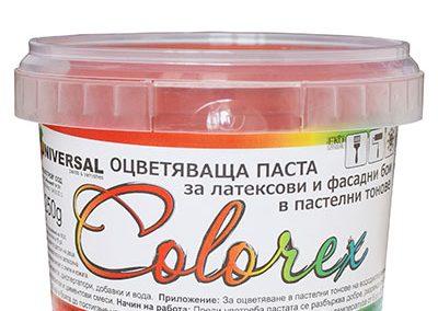 Оцветяващи пасти COLOREX