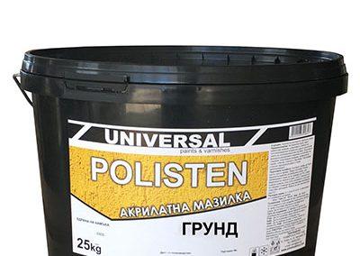 POLISTEN – Акрилатна мазилка със силикон